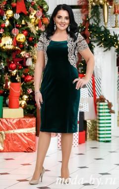 Платье «Болеро» зелёный