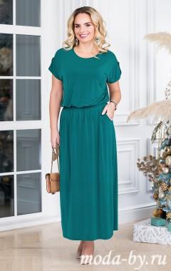 Платье «Прованс» темно-зеленый